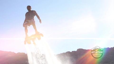 ▶️ Get Outside: Flyboarding